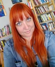 red hair selfie